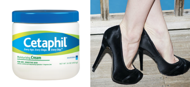 Cetaphil Cracked Heels Compress by StyleSprinter