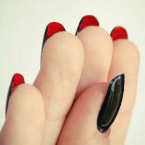 Christian Louboutin-Inspired Halloween Nails