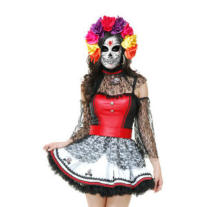 Day of the Death Halloween Costume 2014