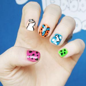 Flintstones Nail Art Tutorial