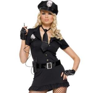Lady Cop Halloween Costume