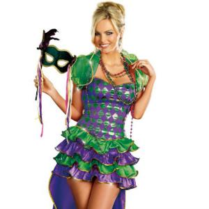 Mardi Gras Maven Halloween Costume