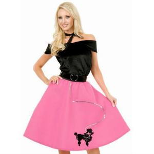 Pink Poodle Halloween Costume