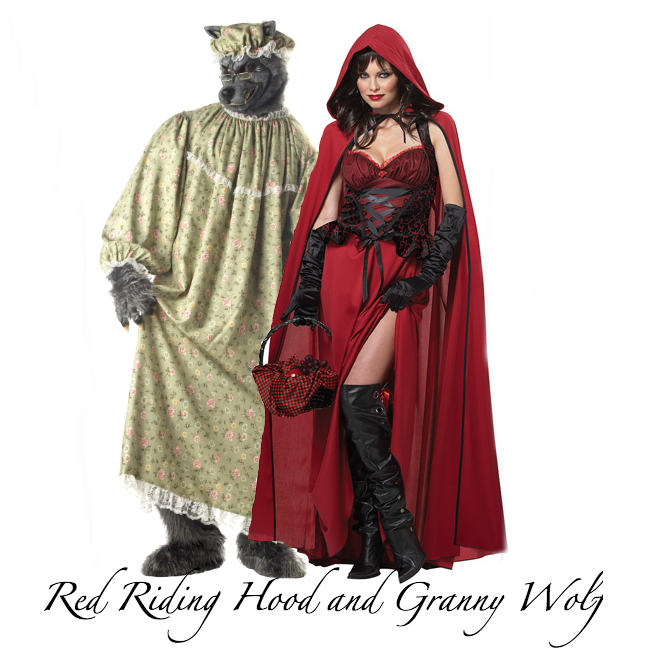 Red Riding Hood and Granny Wolf Halloween Costume 2014
