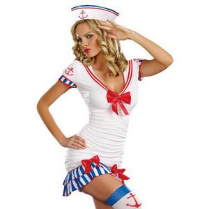 Sailor Pin-Up Halloween Costume