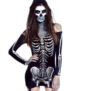 Skeleton Halloween Dress