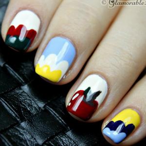 Snow White Nail Art Tutorial