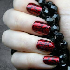 Vampire Nails Halloween