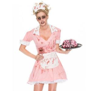 Zombie Waitress Halloween Costume