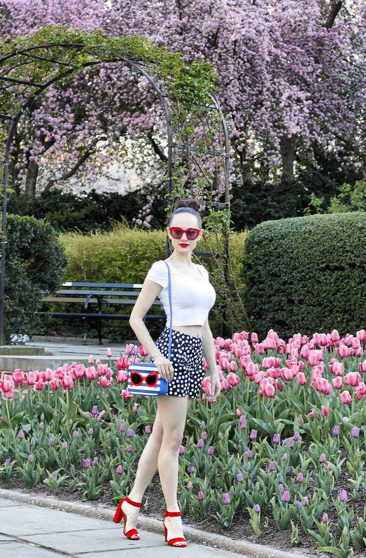 StyleSprinter - Pinup Fashion in Central Park