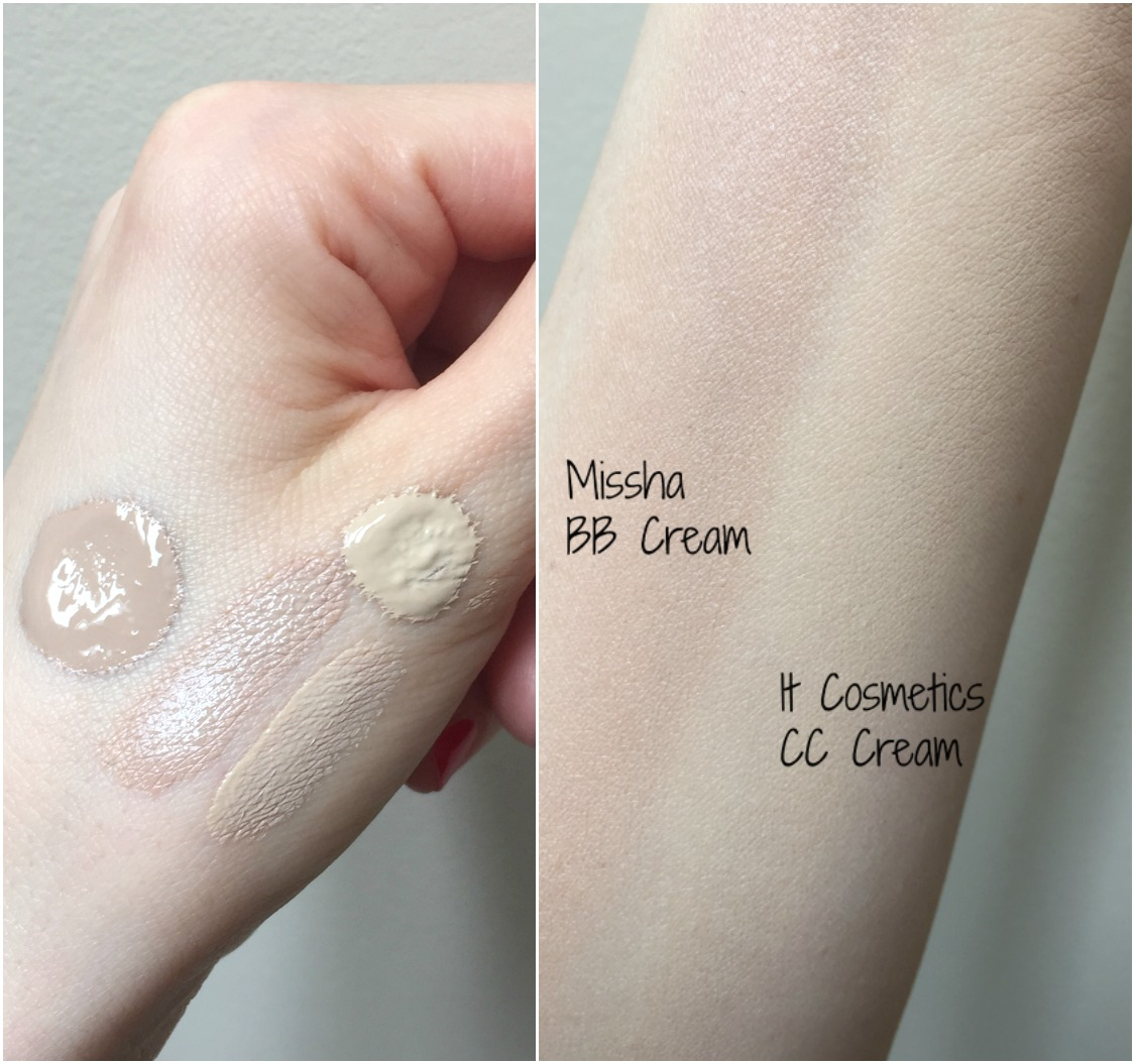 Missha BB Cream vs It Cosmetics CC Cream