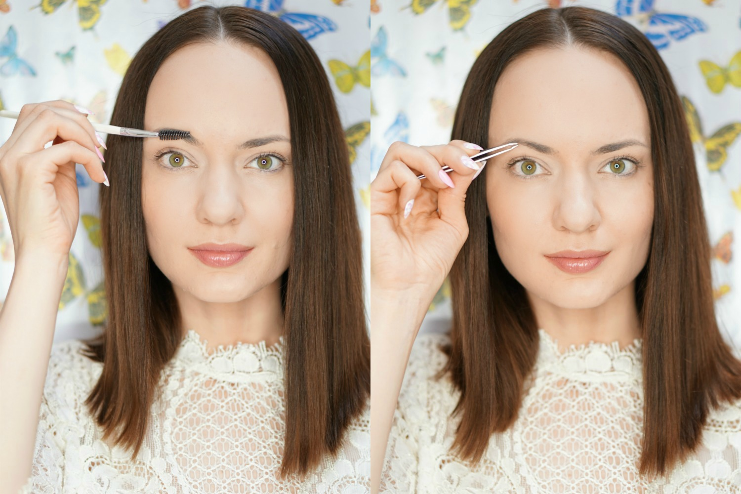 StyleSprinter - Brows 101 Tutorial - Brush and Pluck