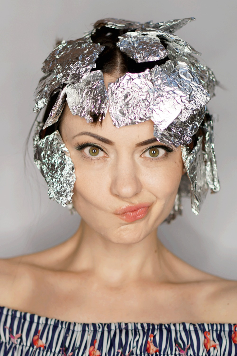 How To Curl Your Hair Using A Flat Iron And Aluminum Foil
