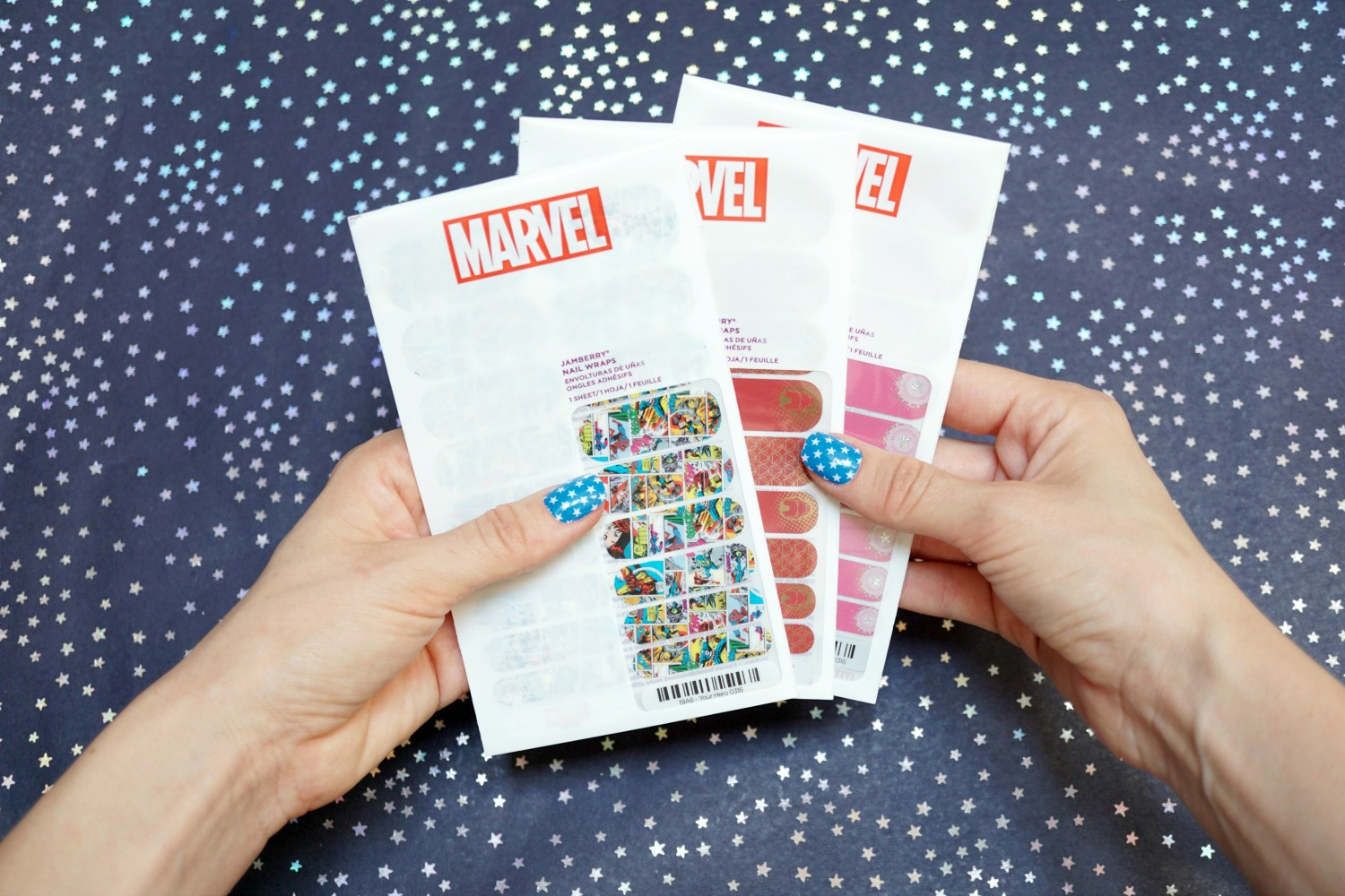 Marvel Superhero Jamberry Decals
