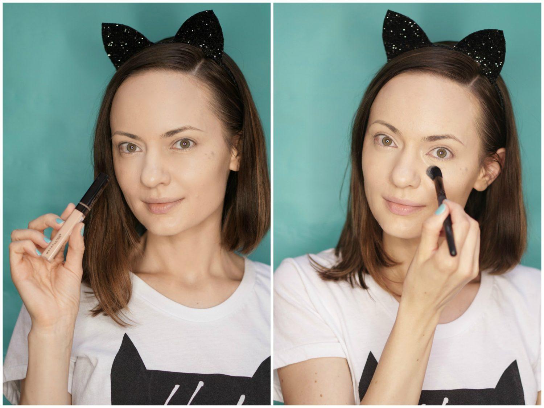 halloween-easy-cat-makeup-tutorial-2