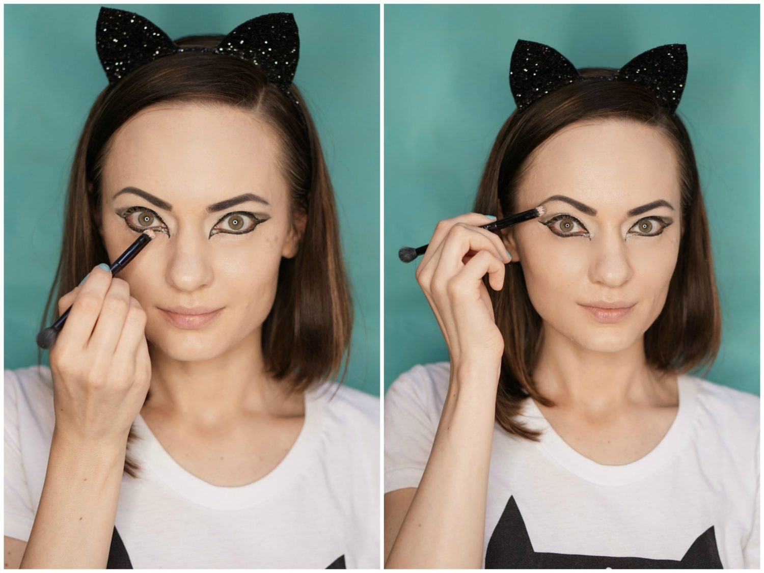 S Cat Eye Makeup
