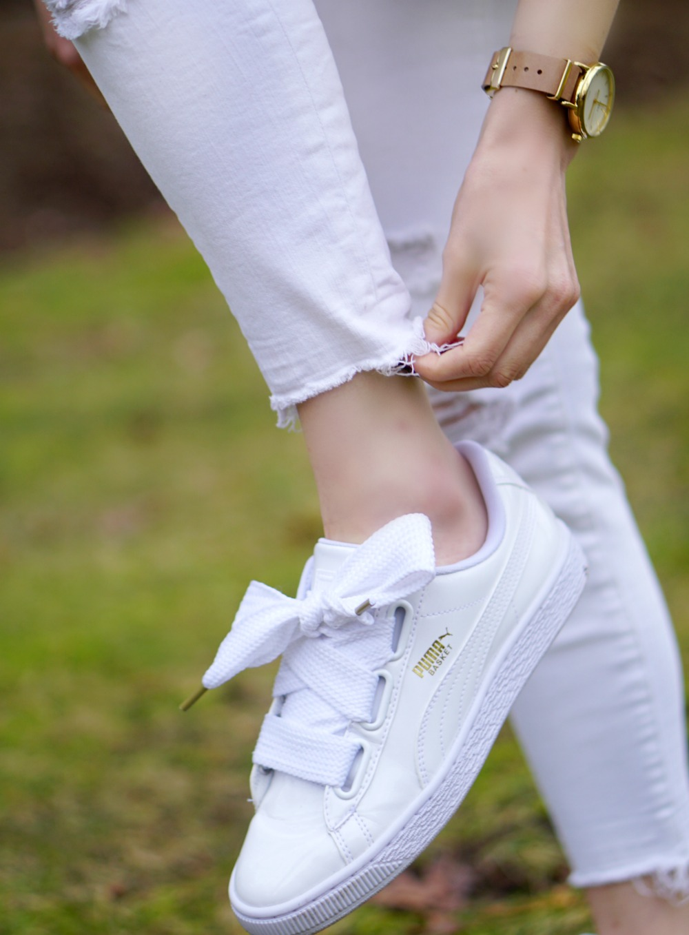 PUMA Basket Heart Sneakers Review 3 Style Sprinter