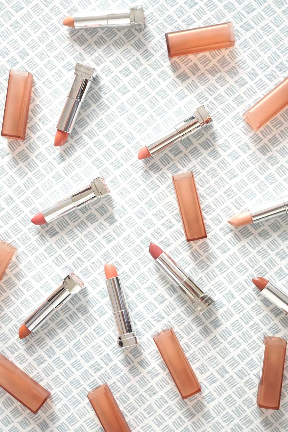 Maybelline Inti-Matte Nude Lipstick review and swatches