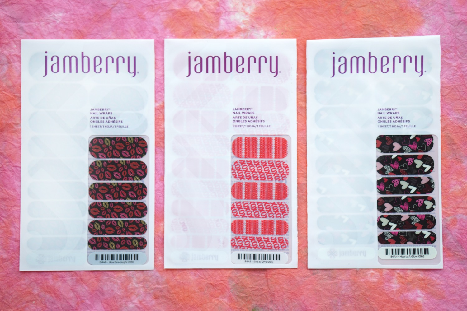 Valentine's Day Nail Tutorial with Jamberry