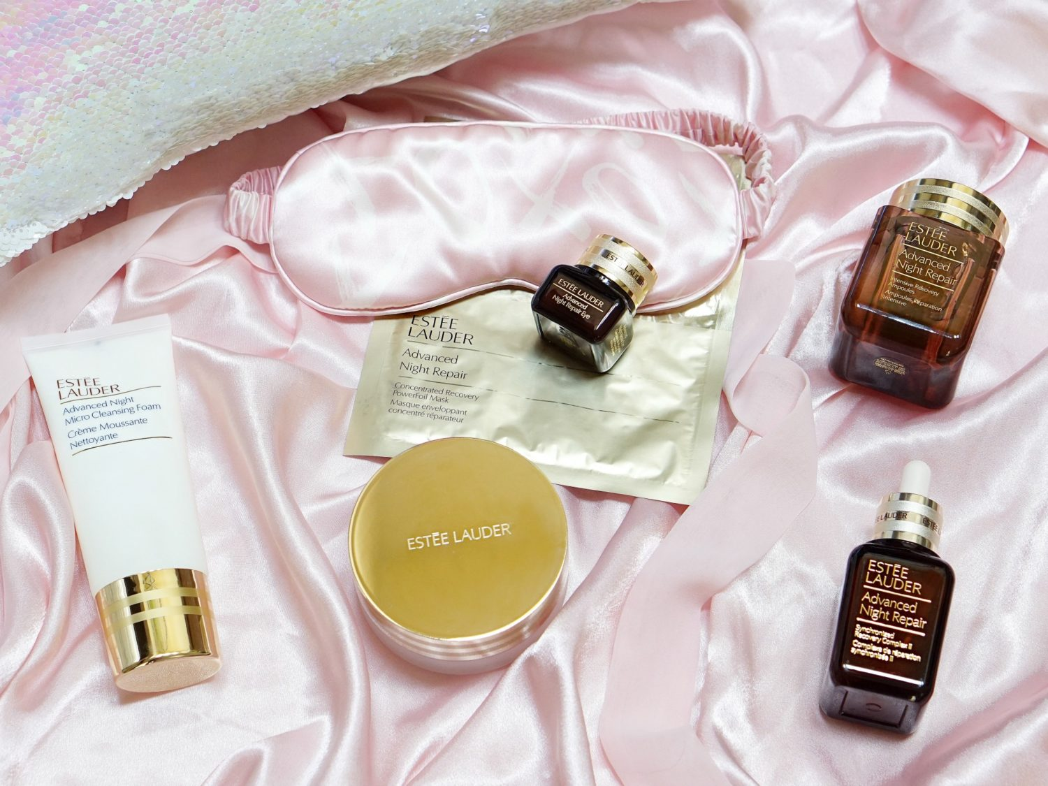 Estee Lauder Advanced Night Repair Line Review