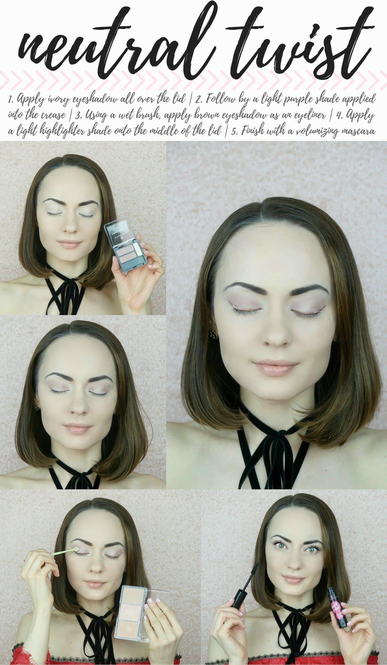 essence cosmetics tutorial - neutral twist look by StyleSprinter