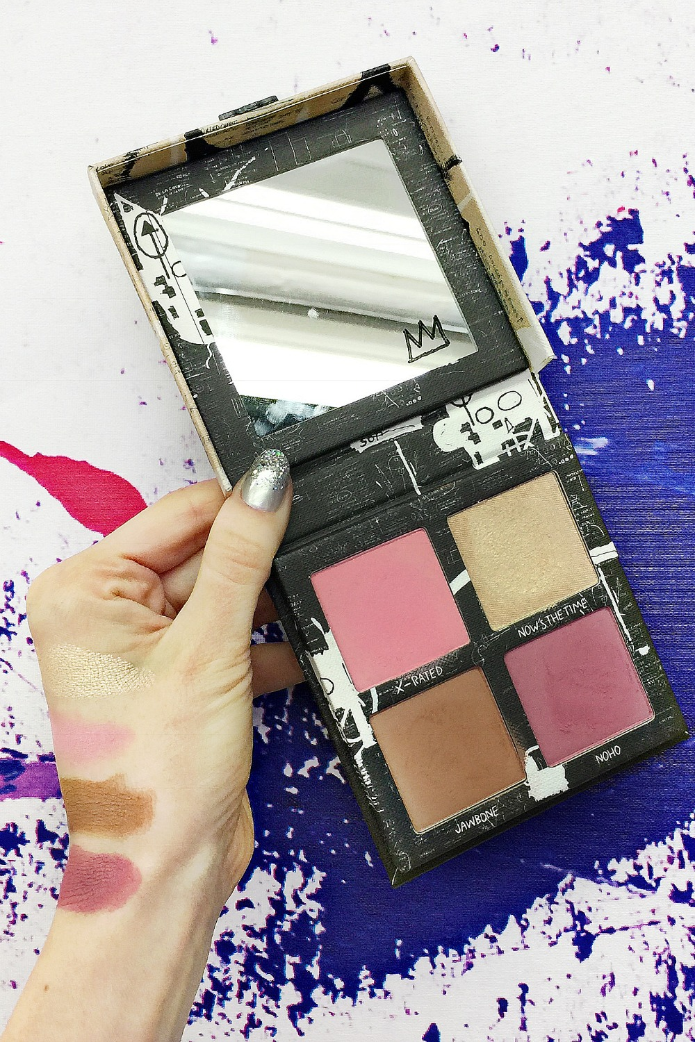 urban decay basquiat collection swatches review
