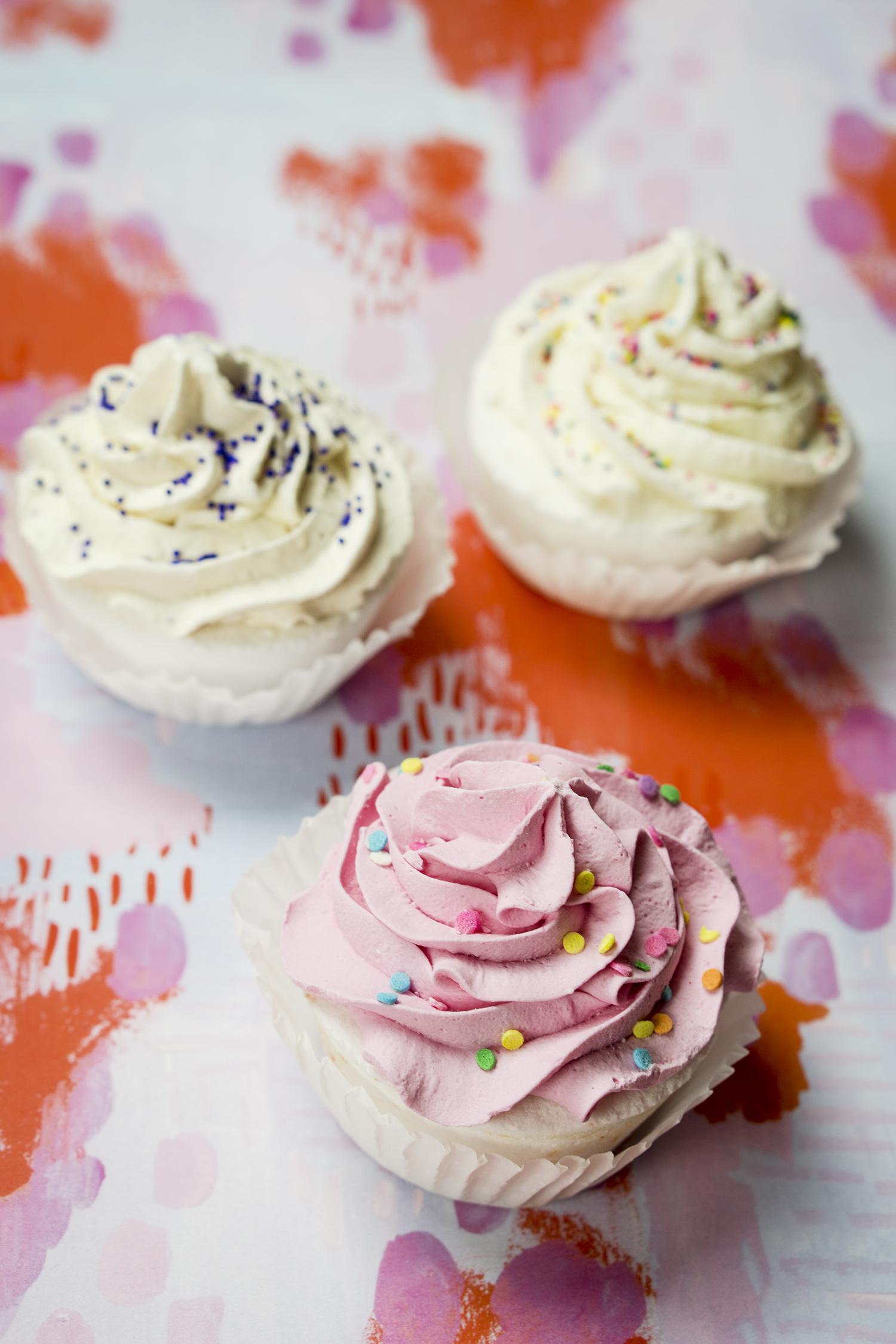 Fizz & Bubble Cupcake Bath Fizzies