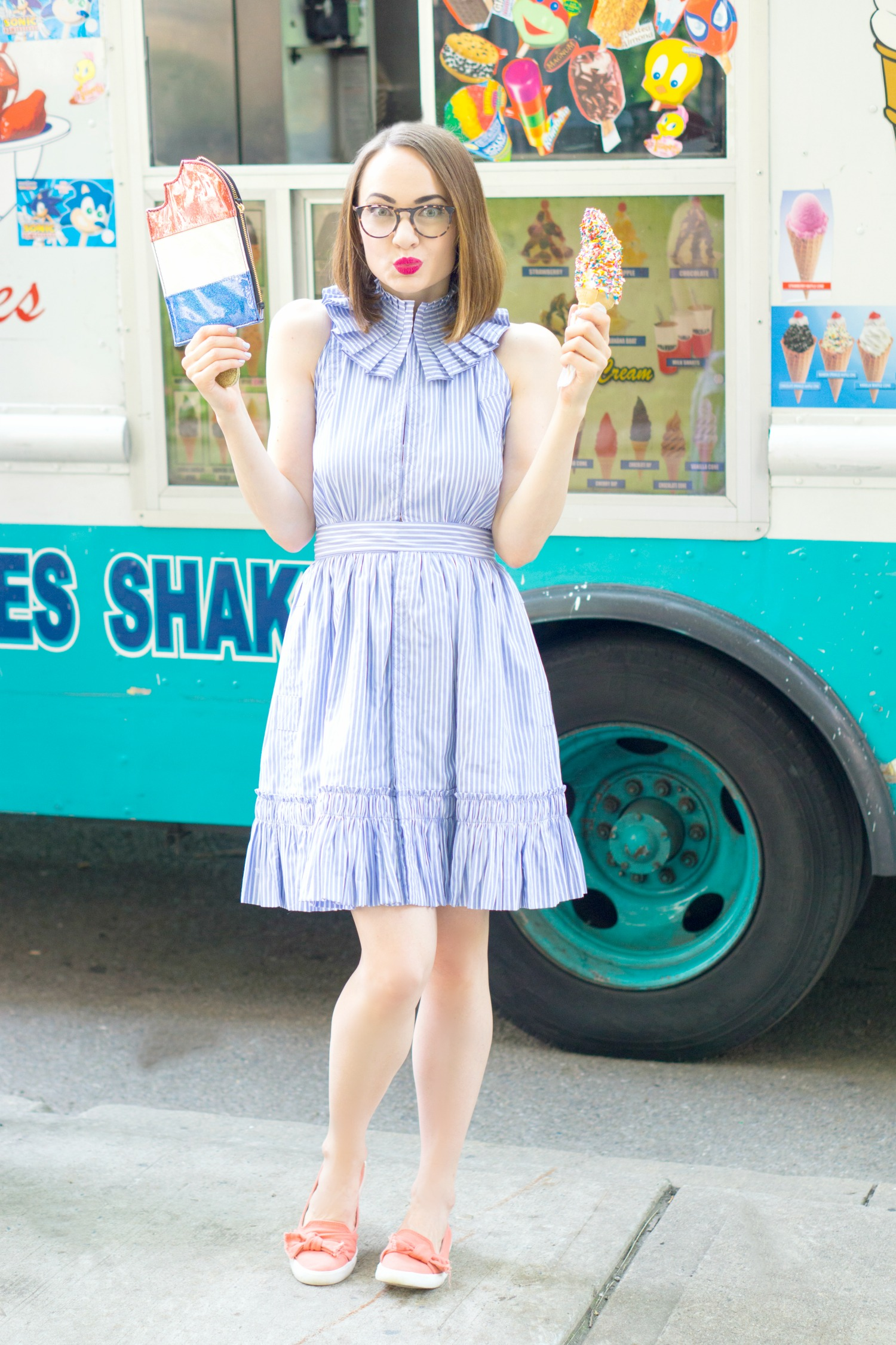 Alexis Briley Stripe Dress - July Fourth Outfit Ideas 2017