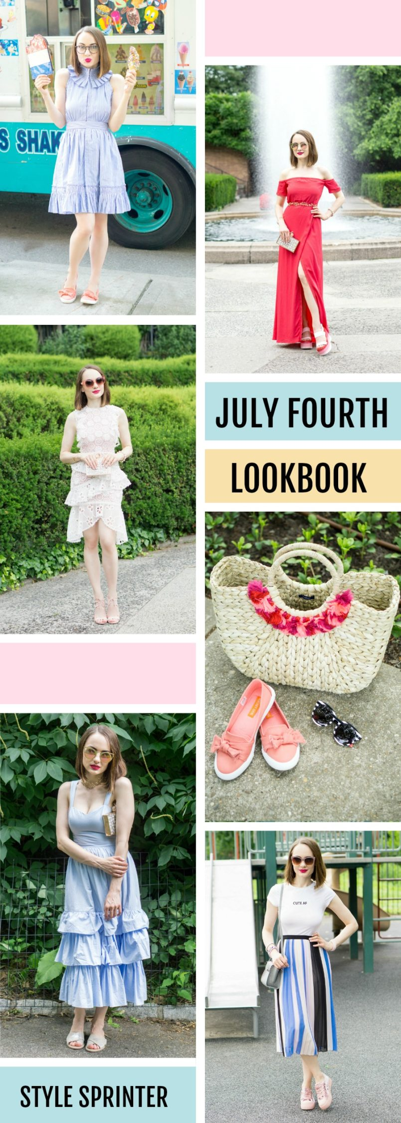 Fourth of July 2017 Lookbook - Outfit Ideas for Any Occasion