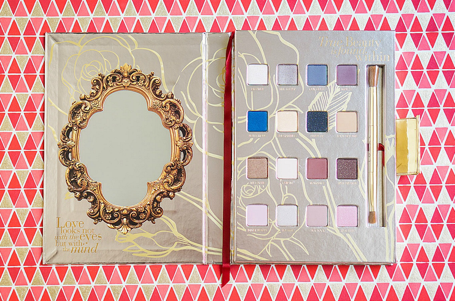 LORAC Beauty and the Beast Palette - Review Swatches Tutorial