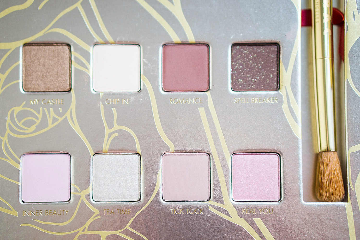 LORAC Beauty and the Beast Palette - Swatches