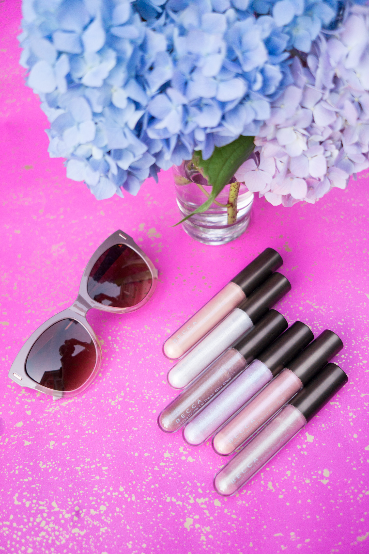 BECCA Liquid Crystal Lip Toppers - Review and Swatches