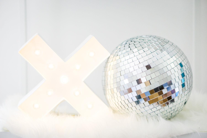 IKEA Decor idea - disco ball decor