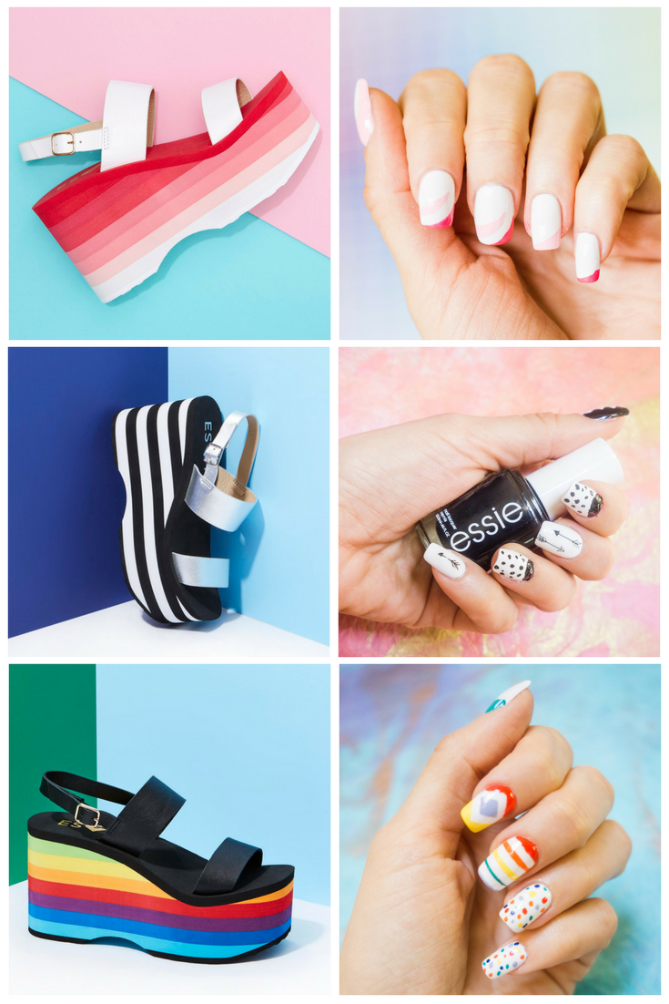 July 4th Nail Art Ideas - RocketDog Inspired