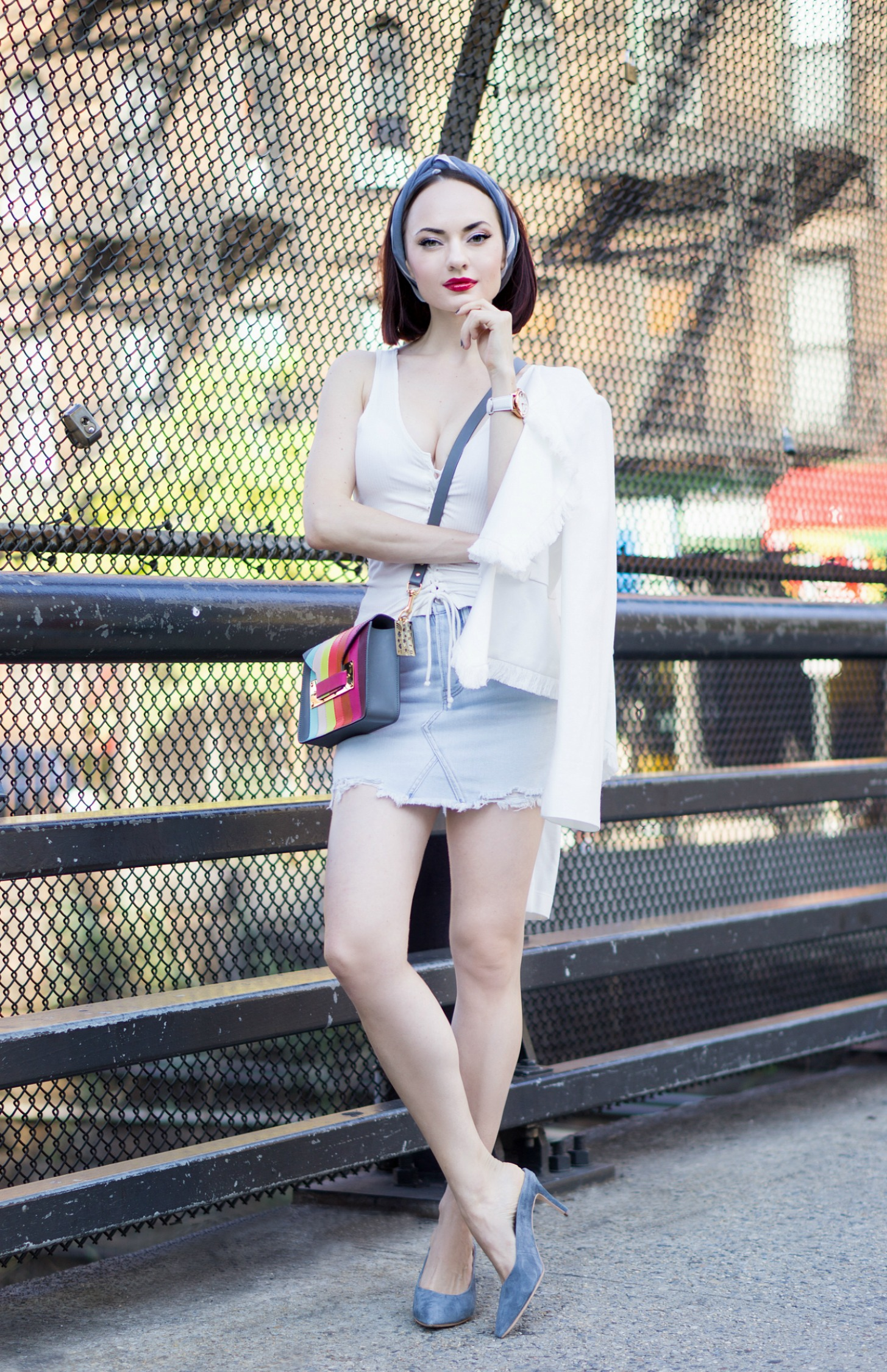 How to Style a White T-Shirt After Labor Day