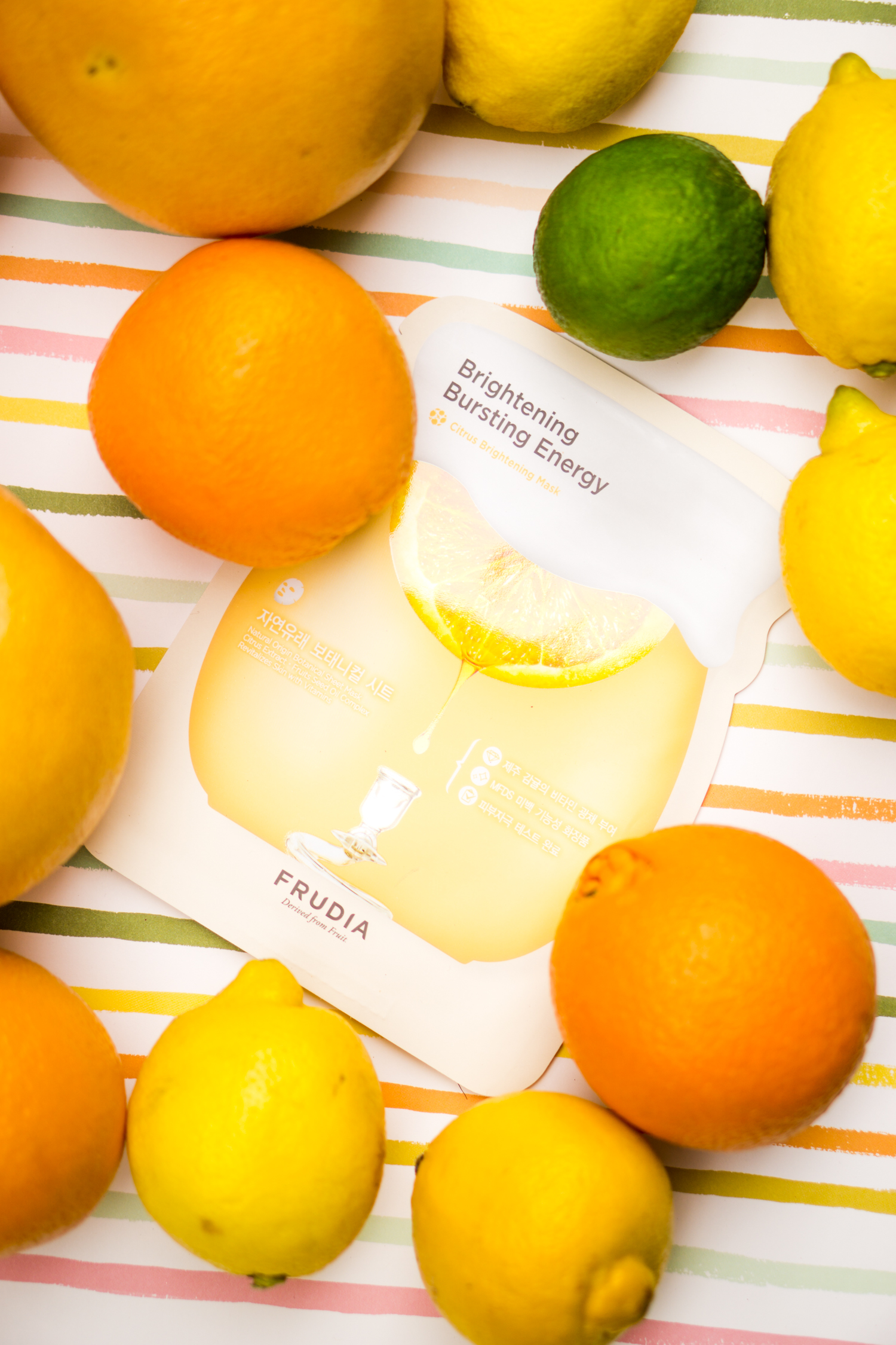 Frudia Brightening Bursting Energy Mask review