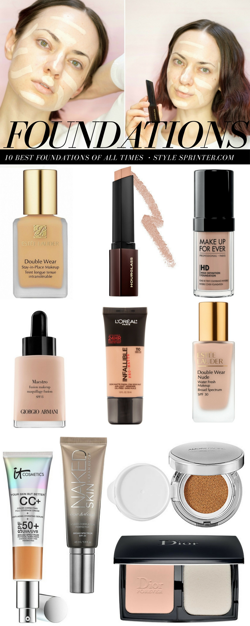 Top 10 Foundations of All Time