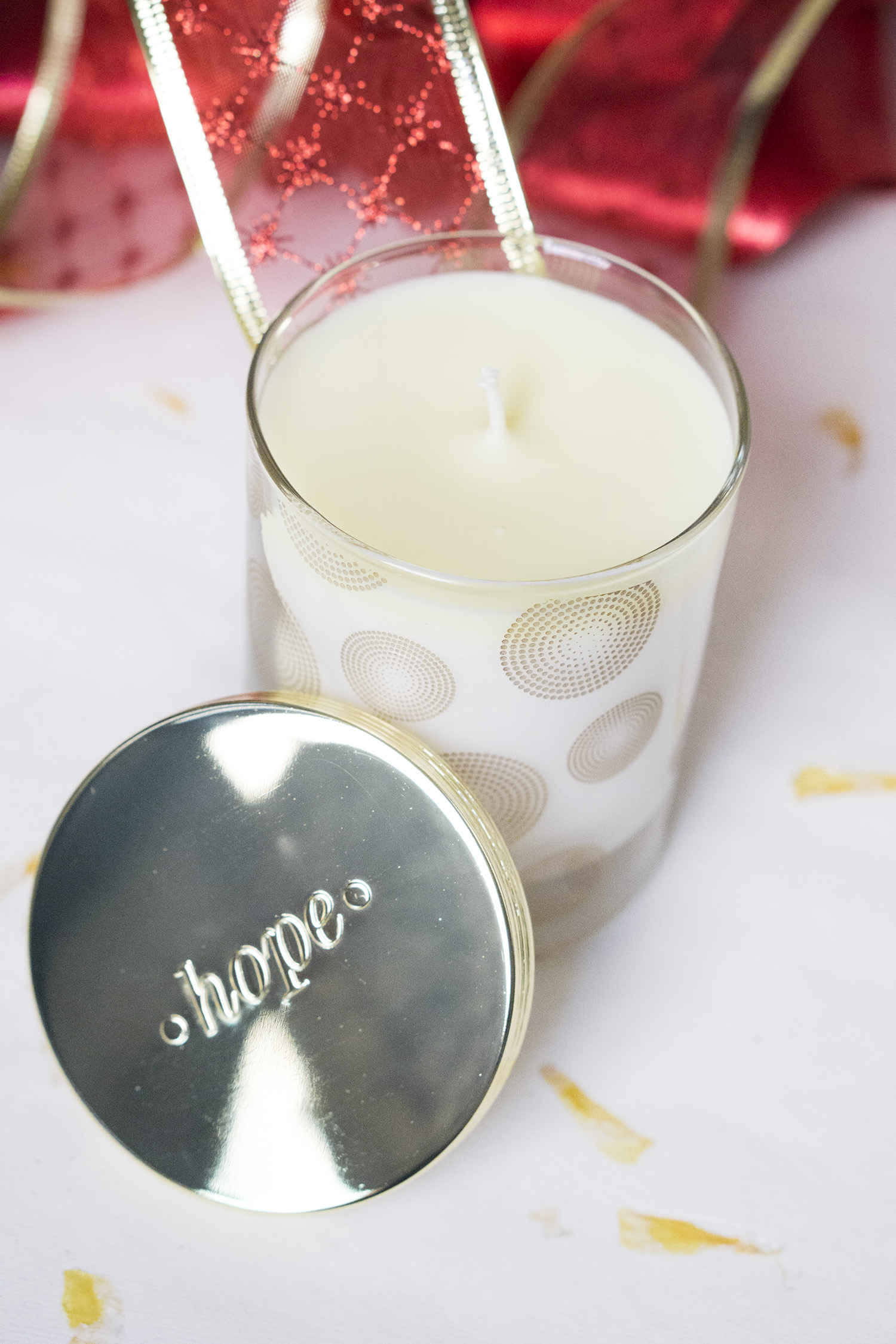 HOPE FRAGRANCES SCENTED CANDLE