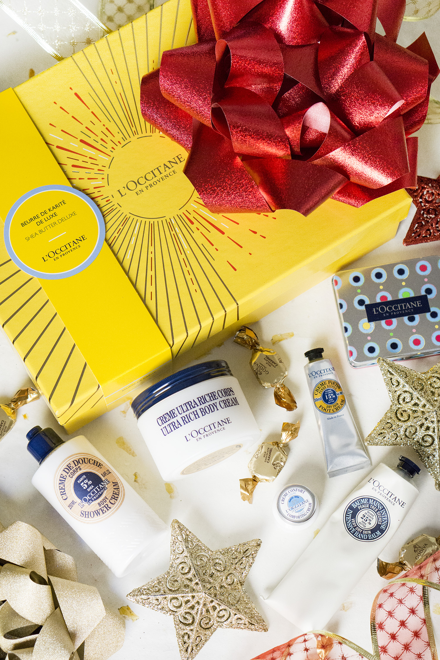 L'OCCITANE SHEA BUTTER DELUXE COLLECTION REVIEW