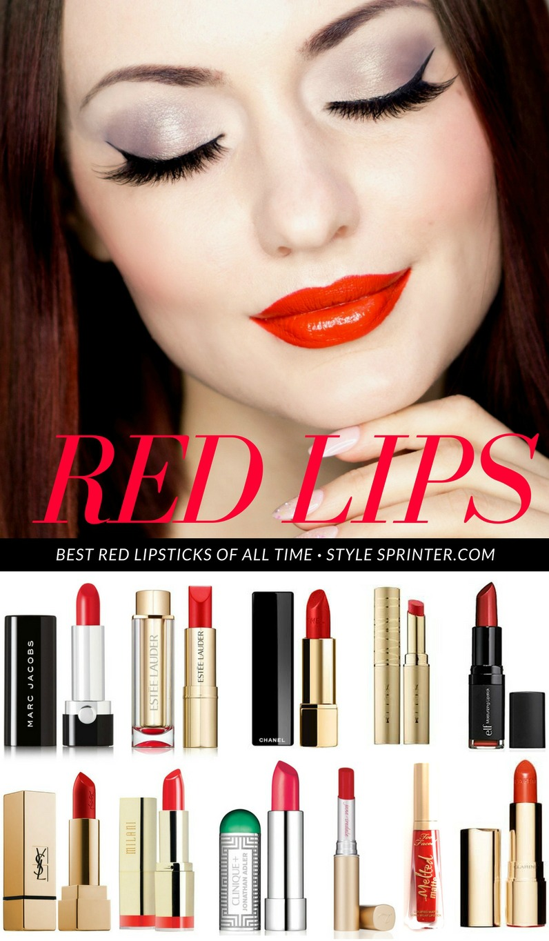 Top 10 Red Lipsticks of All Time
