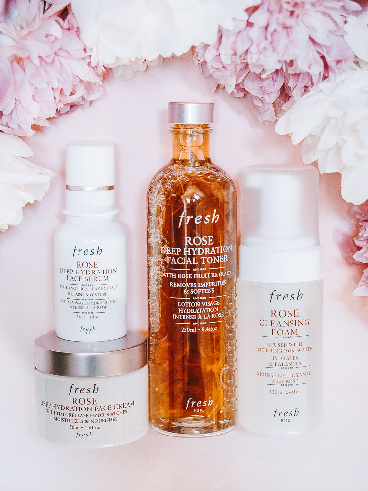 Fresh Beauty Rose Skincare Line